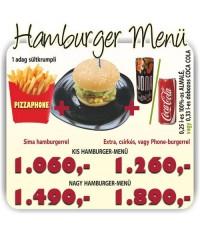40.Extra hamburger menü