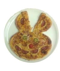 56.Nyuszis pizza gyerekeknek